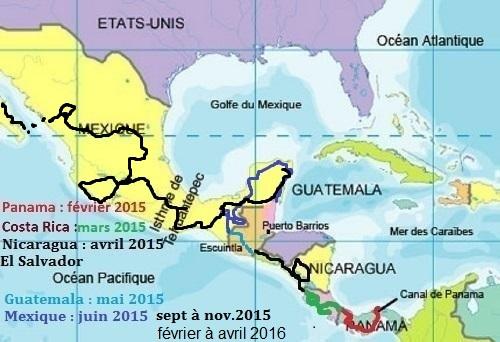 Amerique centralepour site 3