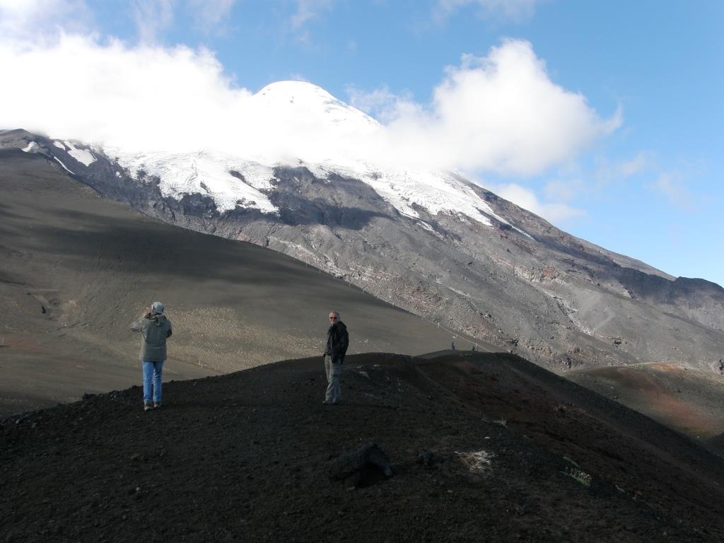 Une grimpette au Volcan Osorno