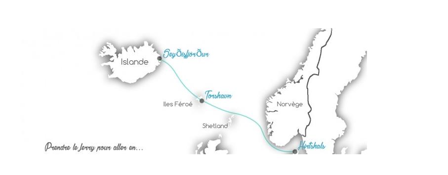 Trajet ferry